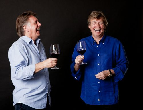 Ken Warwick and Nigel Lythgoe of Villa San-Juliette Winery