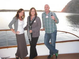 Carmen Hickey, Eric Hickey, and Sales & Marketing Administrator, Jackie Ross