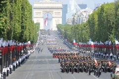 Bastille Day Parade, Paris, France