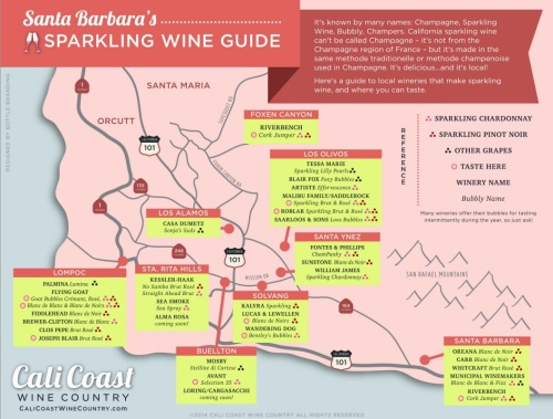 Sparkling Wine Map SB
