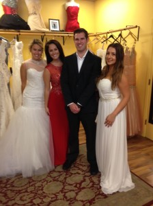 Olivia, Elissa, Nathan (our bodyguard), and Kyndal